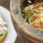 One of Thailand's most popular salads-papaya salad (som tem)- Image Credit: Karin Riikonen