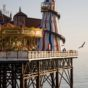 Brighton is home to one of Britain's most famous seaside attractions –the Grade-II listed landmark of Brighton Pier. IMAGE CREDIT: Andrew Marshall