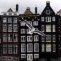 """""""Row of typical Amsterdam houses near the Centraal Station. Image credit: Paul Marshall"""""""