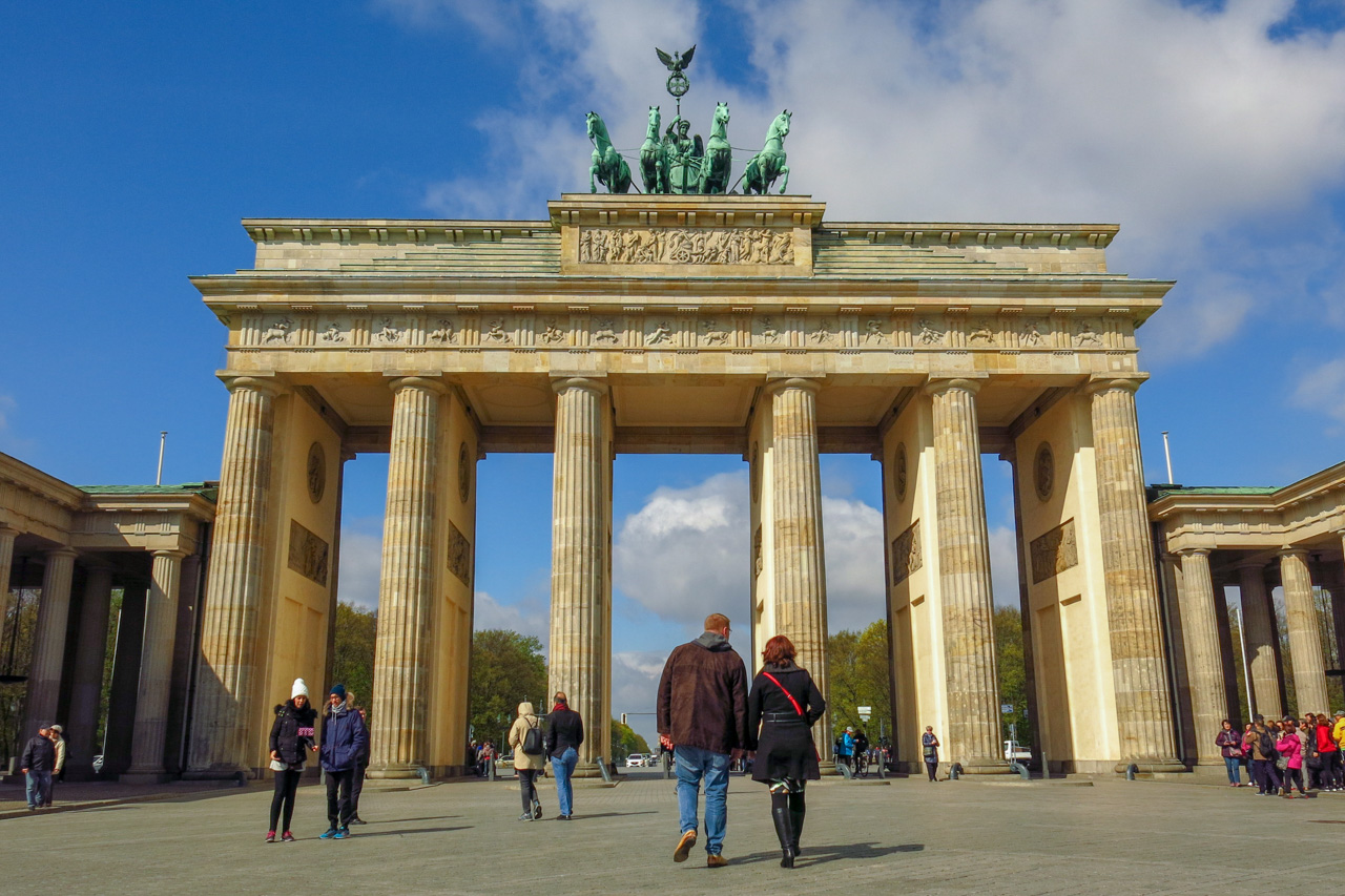 The Brandenburg Gate is one of Berlin, Germany's most iconic landmarks. The Brandenburg Gate Museum, a new attraction which opened in Pariser Platz in 2016, examines the historic events that have taken place here over three centuries. Copyright Amy Laughinghouse.