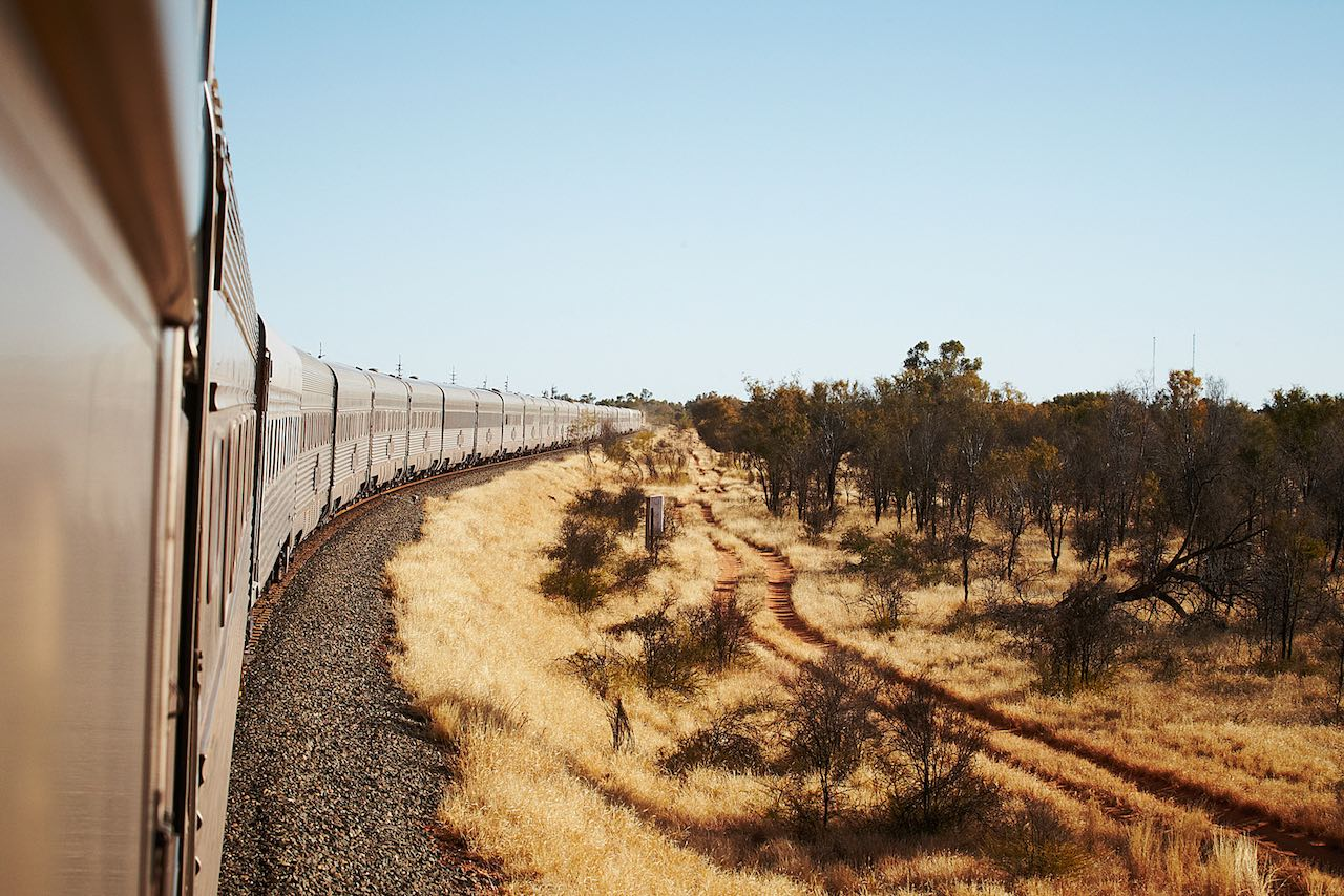 The Ghan - Image courtesy Journey Beyond