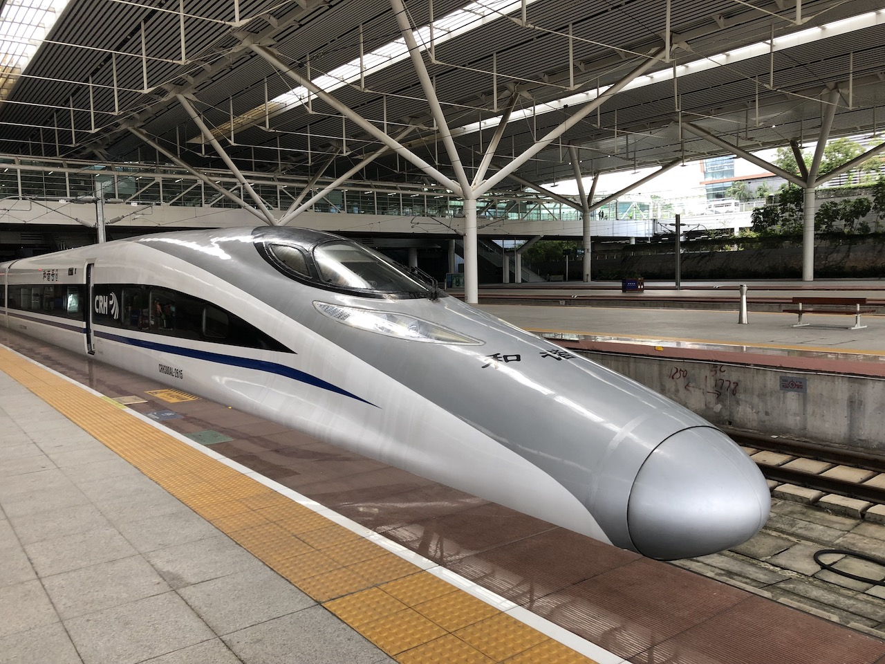 High-speed bullet train - Josh Stewart