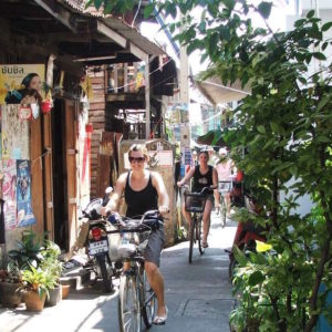 On yer bike in Bangkok