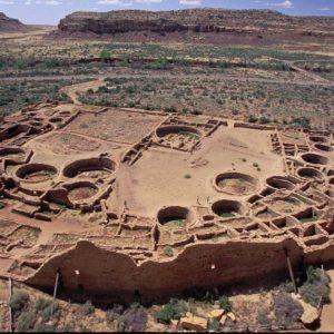 MAGNIFICENT PUEBLO BONITO (CHACO CULTURE NATIONAL HISTORICAL PARK): IMAGE CREDIT: ANDREW MARSHALL