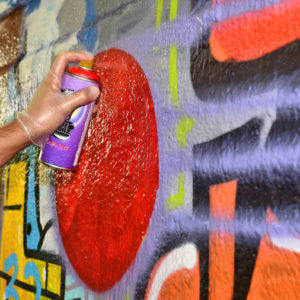 Learning to do street art in Paris