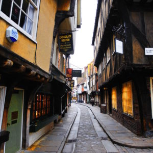 THE SHAMBLES, YORK – IMAGE CREDIT PAUL MARSHALL