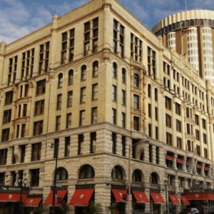 The Pfister Hotel, in Milwaukee, Wisconsin