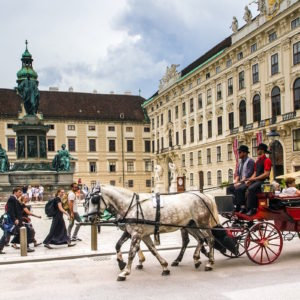 A kransky, a kiss and a piece of cake in Vienna