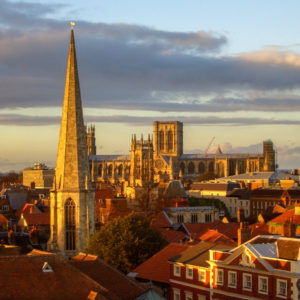 York, England has been dubbed Europe