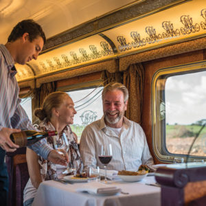The joy of Travelling on The Ghan