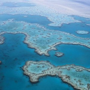 Take to the air to see the Great Barrier Reef